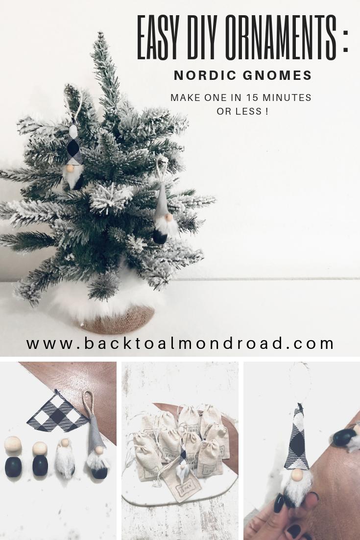 DIY ORNAMENTS - NORDIC GNOMES