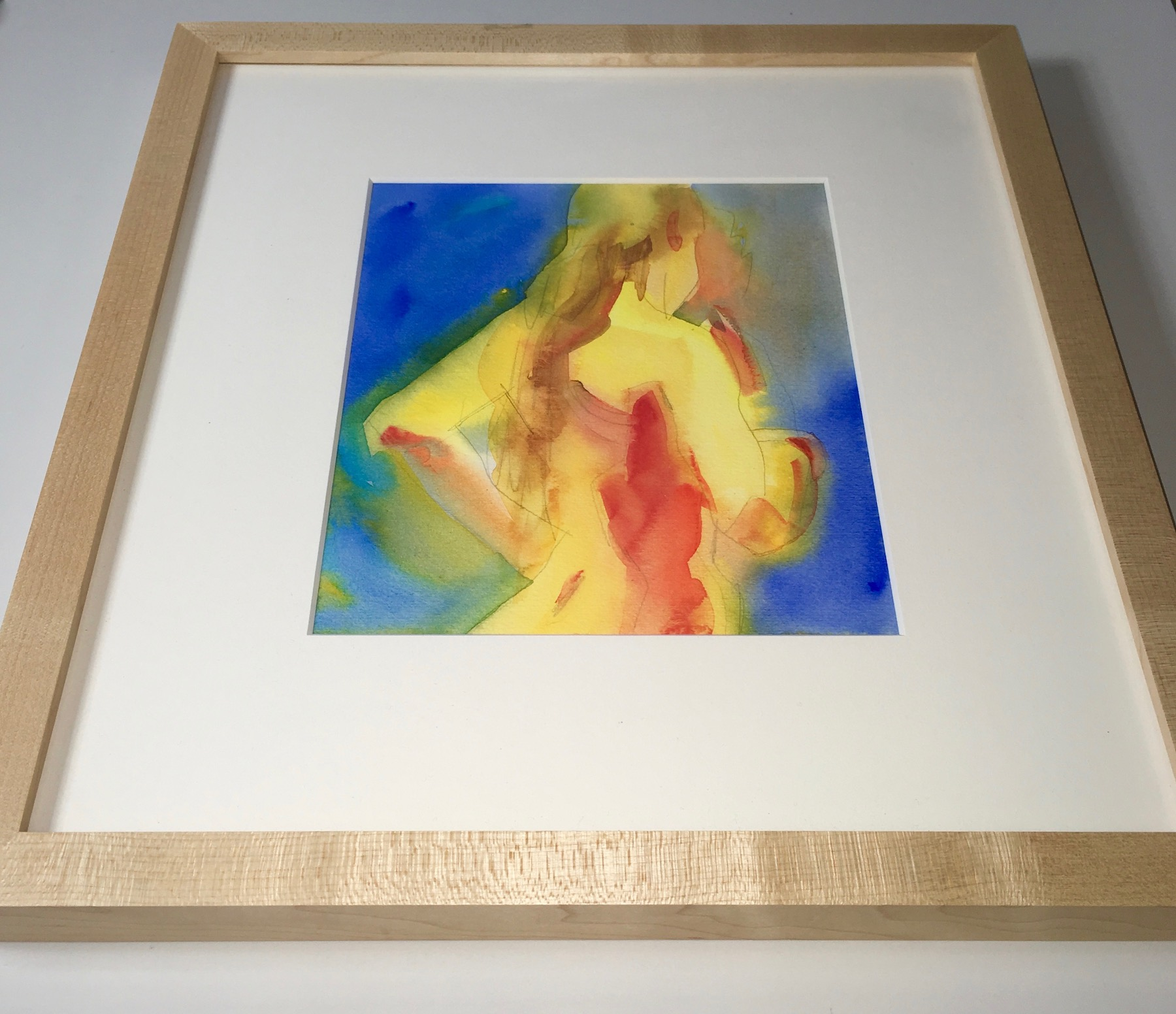 Available for purchase - View all available for purchase figurative watercolors here.
