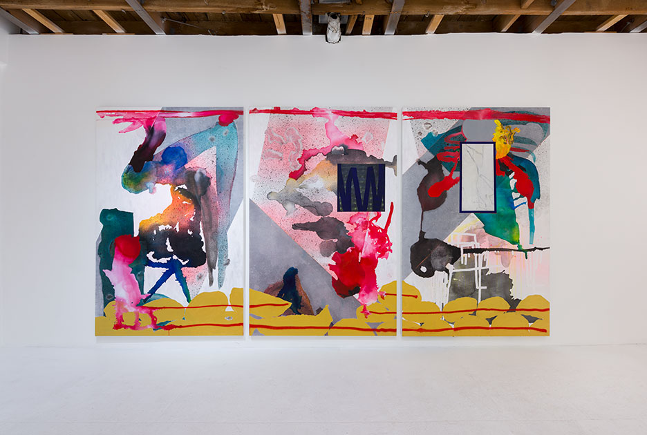 (Installation view) Raiders 1 - 3 (Find, Dig, Fill)  Affinity & Distance, Chimento Contemporary