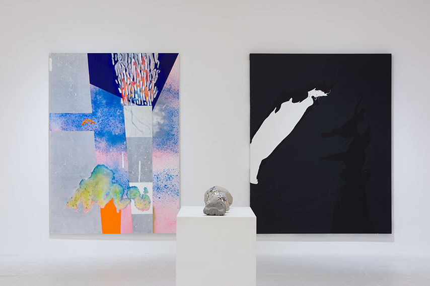 (Installation view) Torch & Rocks  Affinity & Distance w/ David Donald Sutherland, Chimento Contemporary
