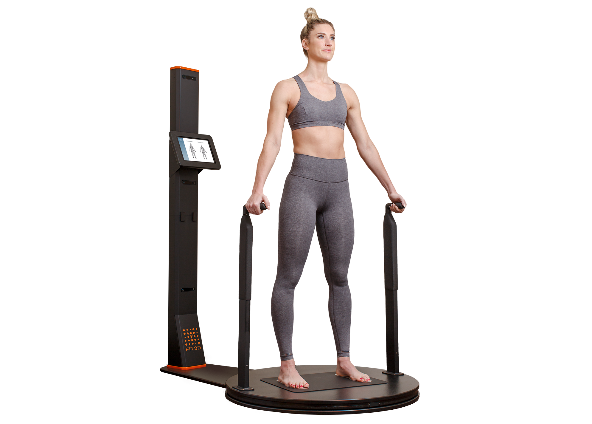 Autonomous Hardware - Our 3D Body Scanner was built to be a precision machine. In addition to being self-serving, our scans have 200% less movement than other scanners without handles. The scan time itself takes just 35 seconds and offers an integrated scale for posture analysis - ideal for chiropractors. This machine is designed to be easy to use & accurate. But more importantly, it gives you a baseline to help people start your program.