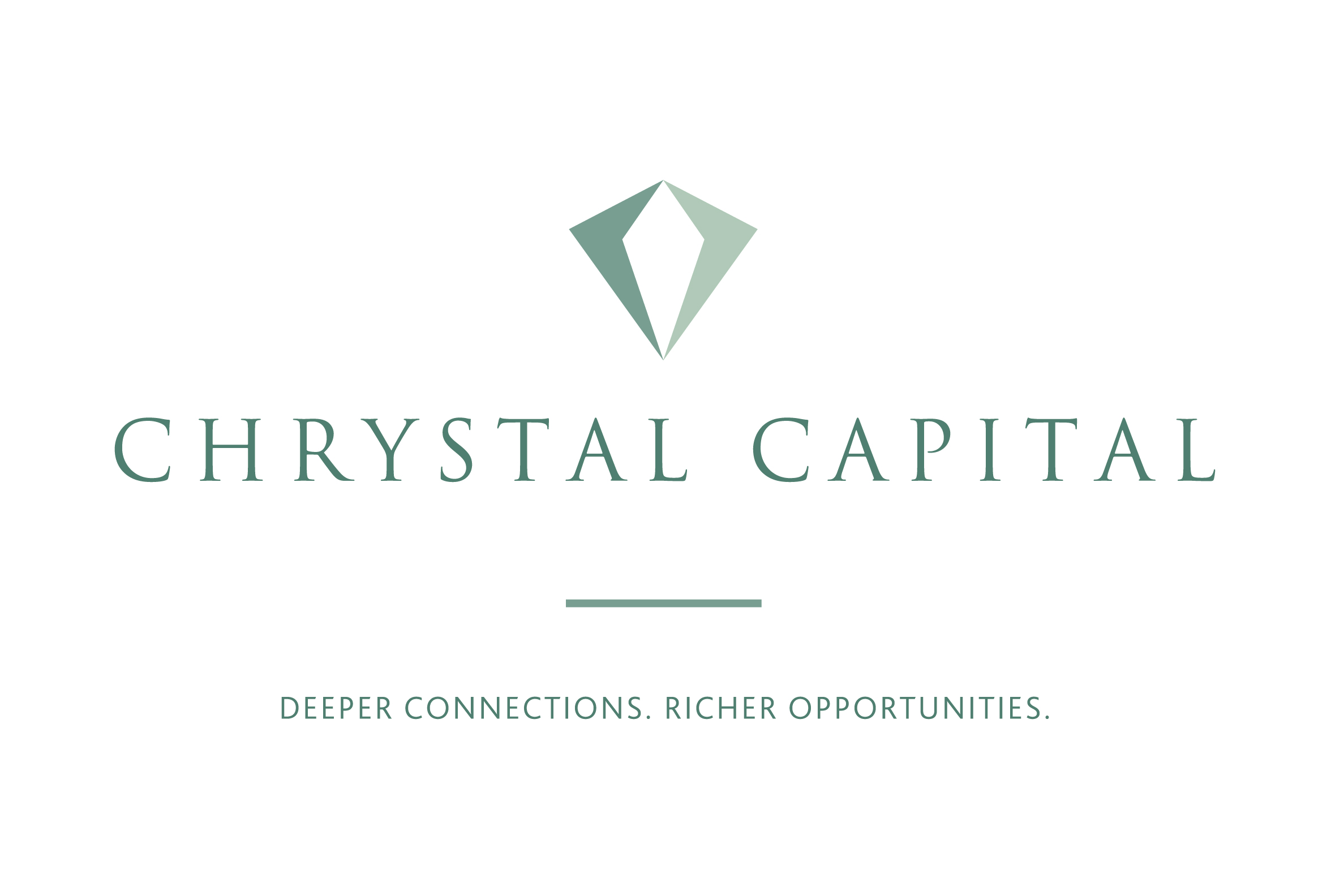 Chrystal Capital refreshed logo as part of new rebrand