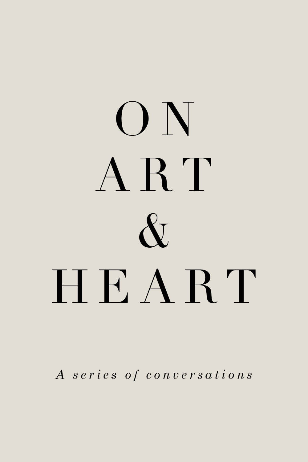 On Art & Heart—By Rhonda.H.Y.Mason