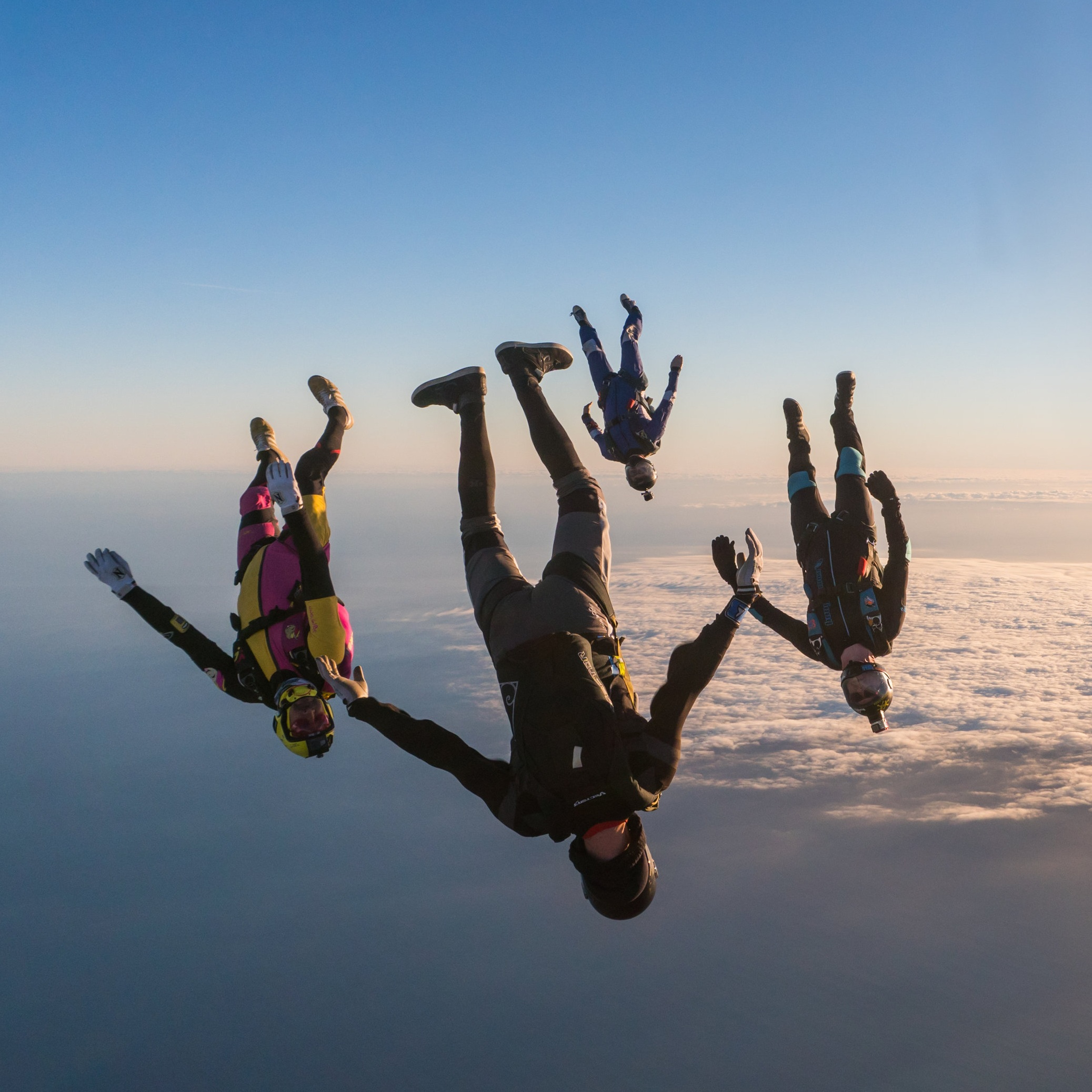 Air Progression - 5-day skills camp style. Full focus on improving your flying.€1550 p.p in a group of fourRead more