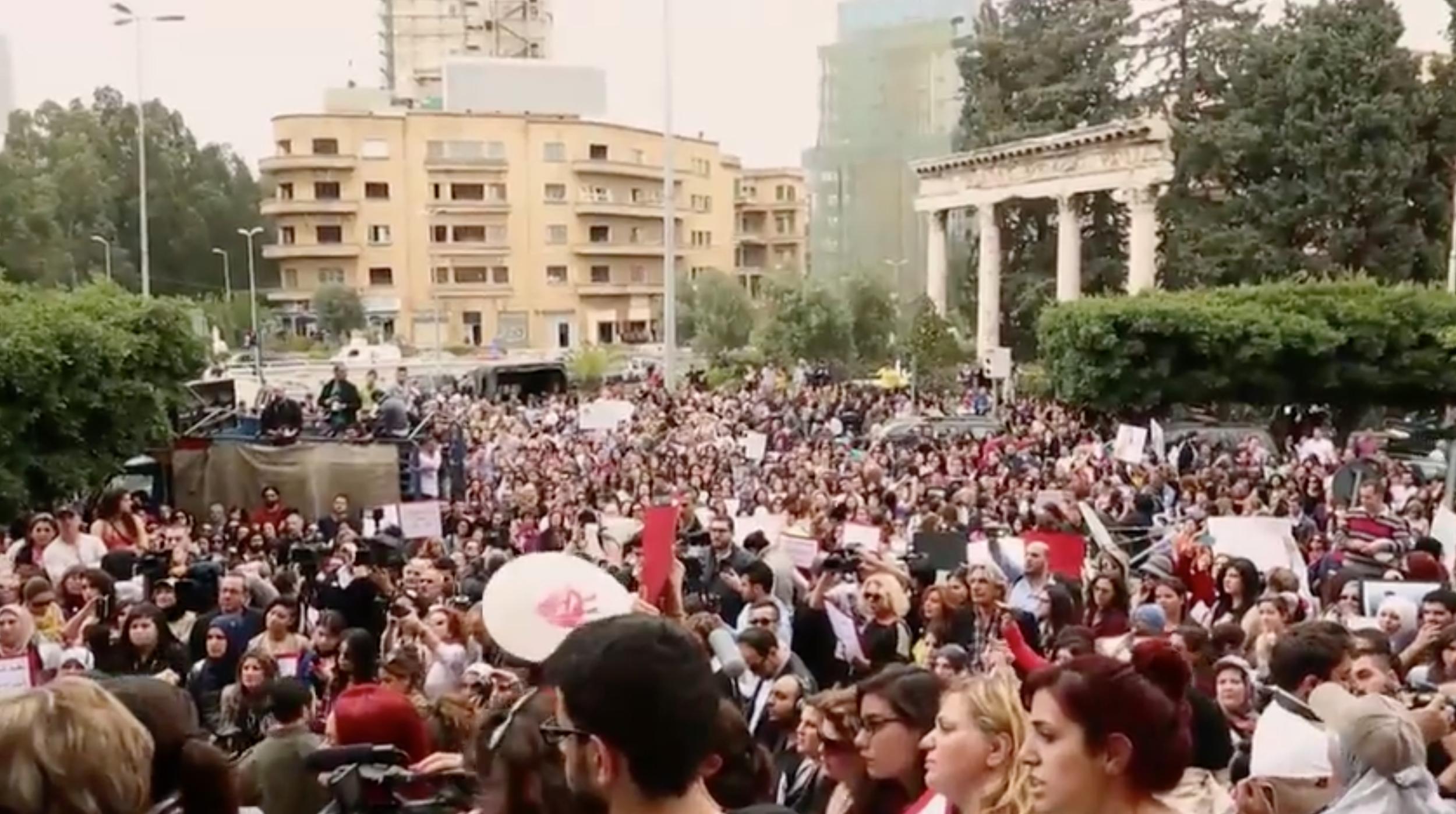 Image:  Feminism Inshallah: A History of Arab Feminism , directed by Feriel Ben Mahmou, 2014