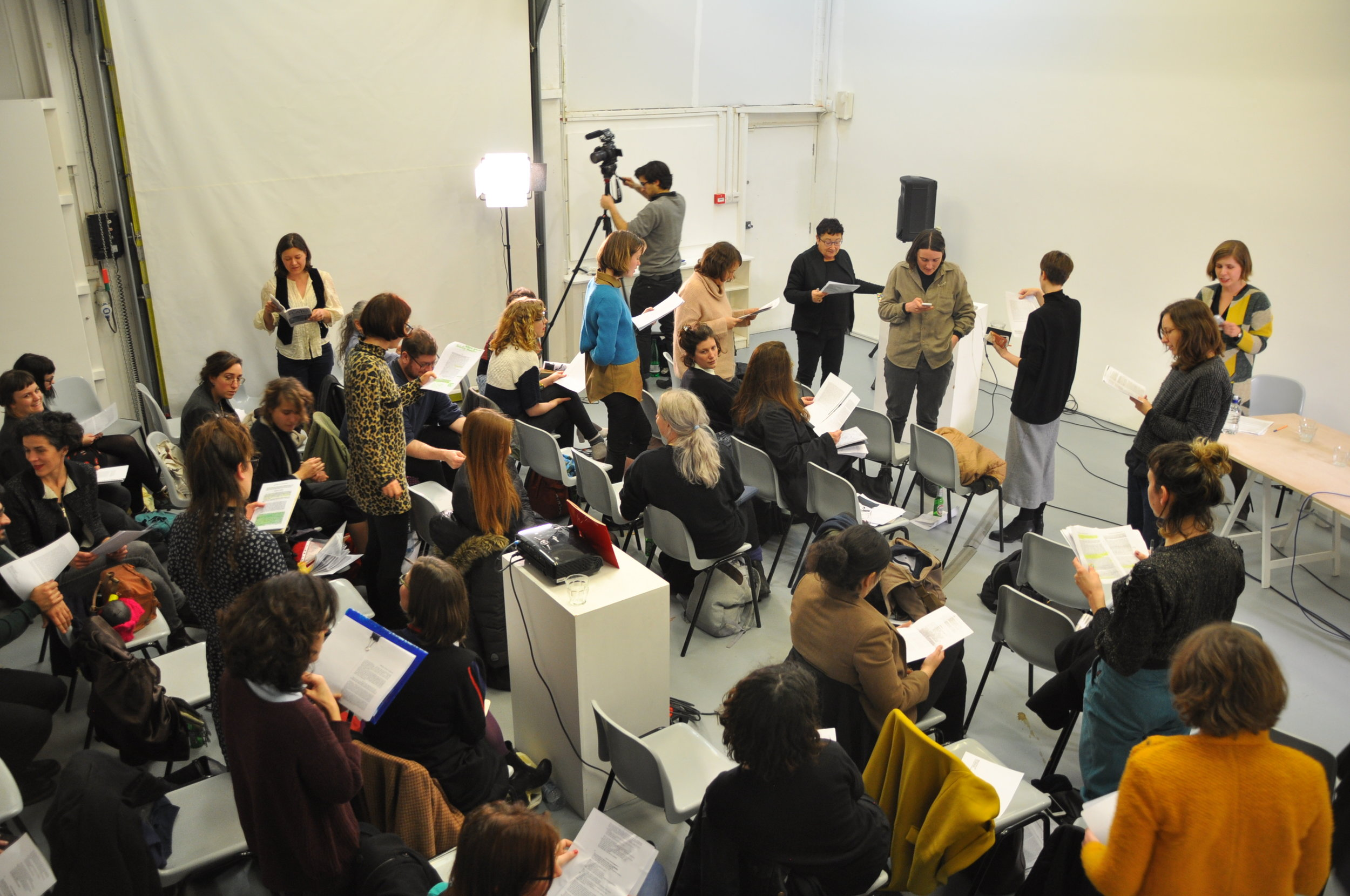 Feminist Chorus for Feminist Revolt_Lucy Reynolds_2_The Showroom_12 December 2015_as part of Now You Can Go_Photo Ehryn Torrel._3.JPG