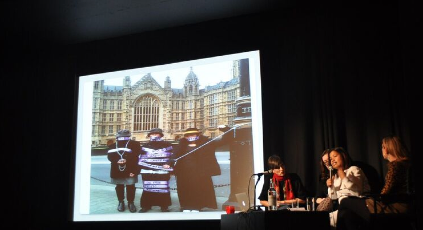 Marisa Begonia, Justice for Domestic Workers, On Social Reproduction panel, ICA, London, as part of Now You Can Go, December 2015