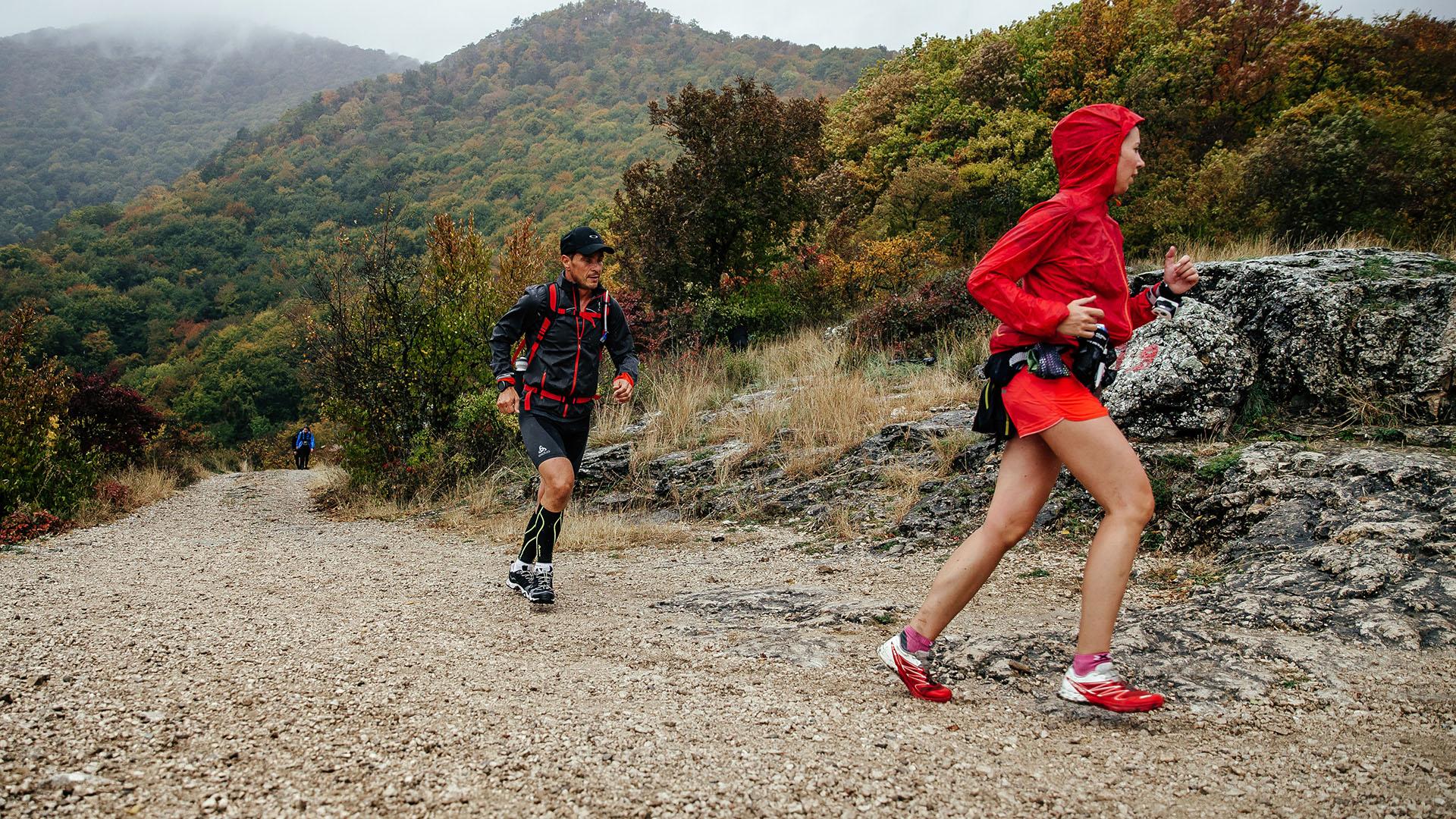 Mountain Marathon Competitors