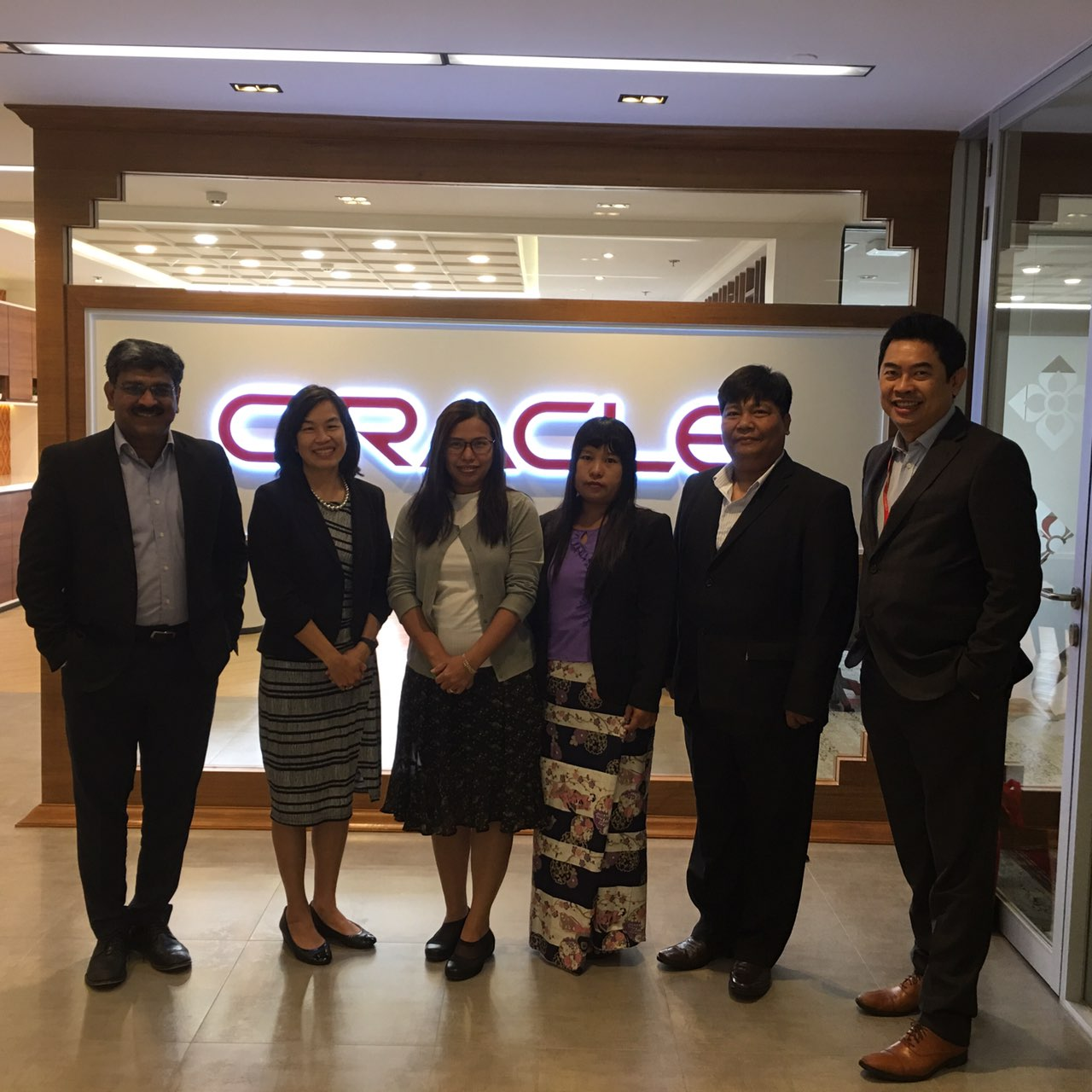 Meeting with the Oracle Communications team.