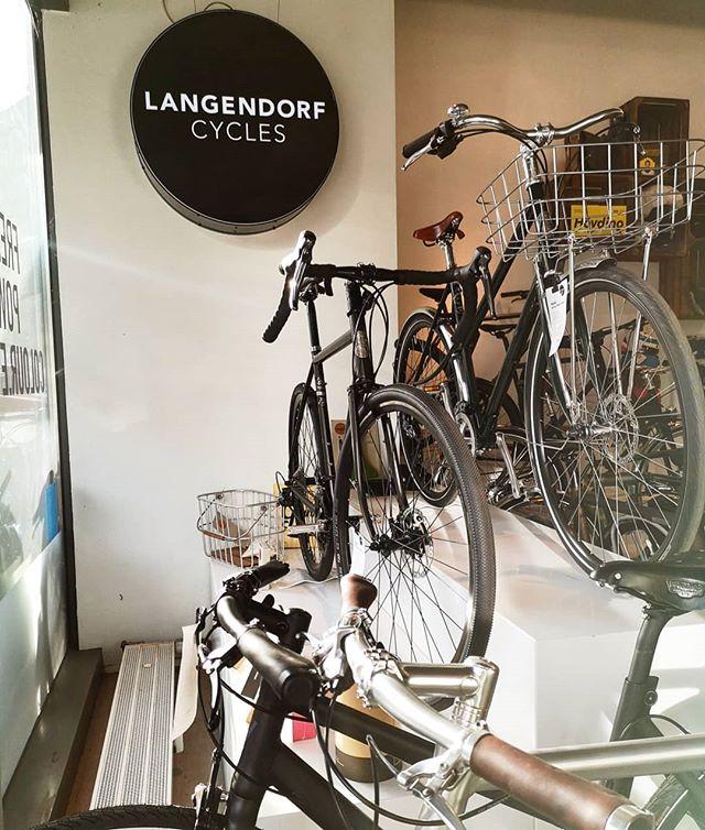 Einer meine lieblings Händler, auch schon zu Zeiten als es noch Two Wheels Good war, hat der Laden in der Bismarckstraße mich immer wieder magisch angezogen. Durch den Einfluss von Jan gelang dem Laden der jetzt @langendorf_cycles heißt und früher eher eine Galerie glich, der Wechsel zu einem echten Bike Shop. Nicht nur deshalb wurde er gerade auch zum @schindelhauerbikes Händler des Jahres gekürt!  #hamburg #bikeshop #cycling #urbancycling #carisover #urbanmobility #bike #cycling #schindelhauerbikes #knog #klingeling #dingdong #nutcase #knog
