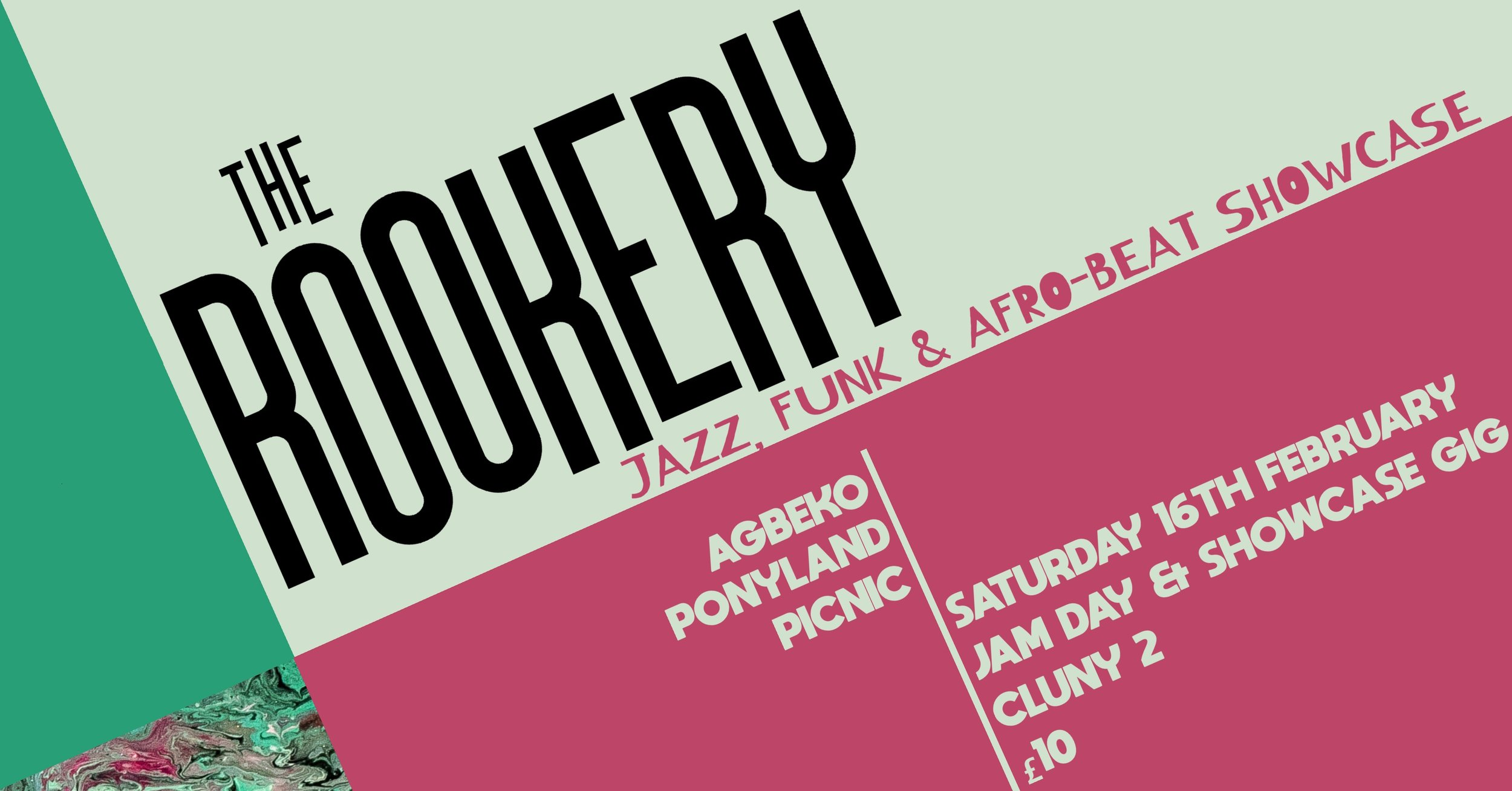 SPOTLIGHT Uk PREVIEW:THE ROOKERY JAZZ, FUNK AND AFRO-BEAT SHOWCASE -