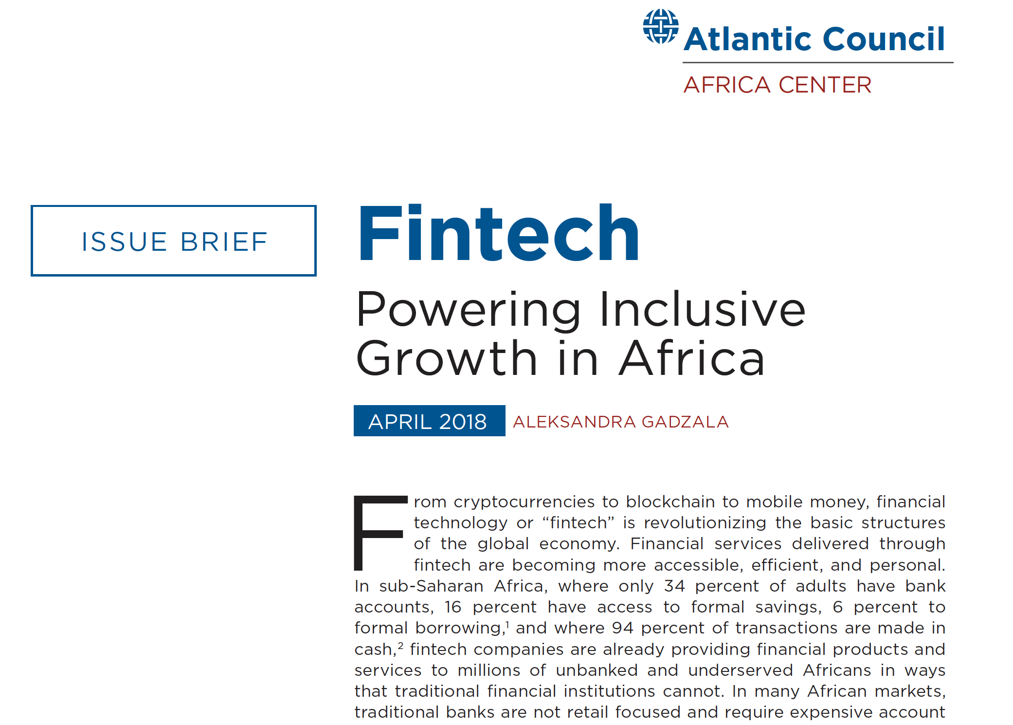 How is fintech evolving in African markets and what factors are necessary for its success?