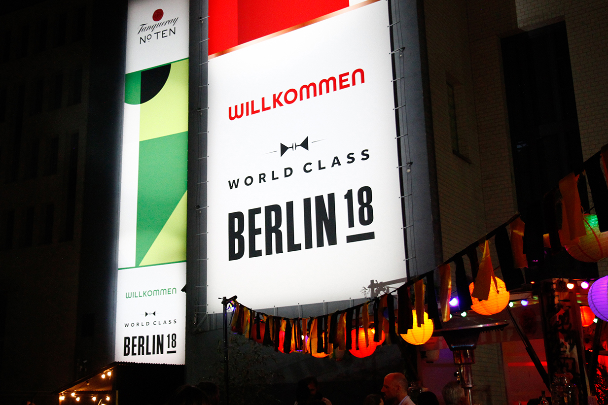 DIAGEO  World Class Berlin 2018