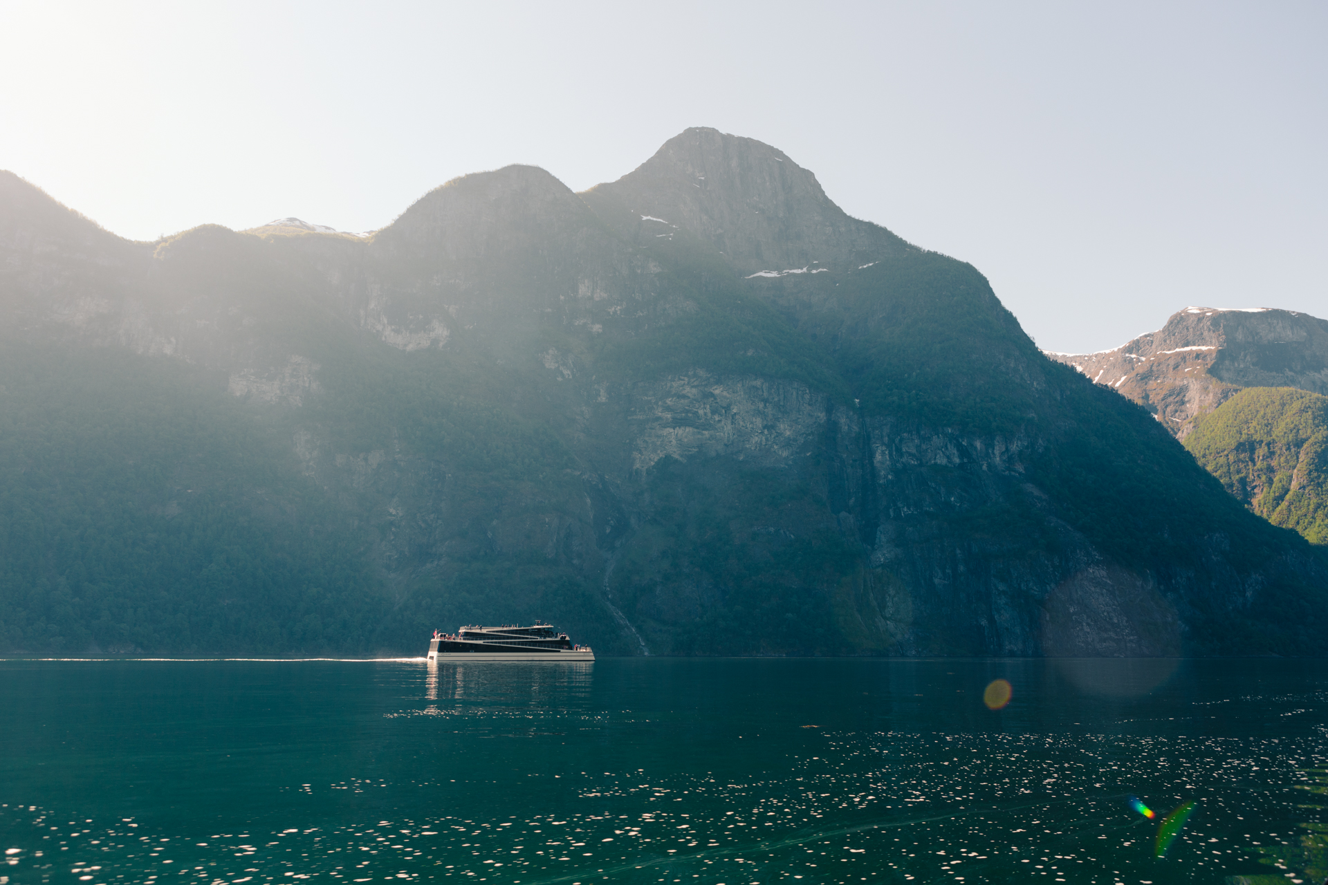 The electric  Future of the Fjords  on the Nærøyfjord
