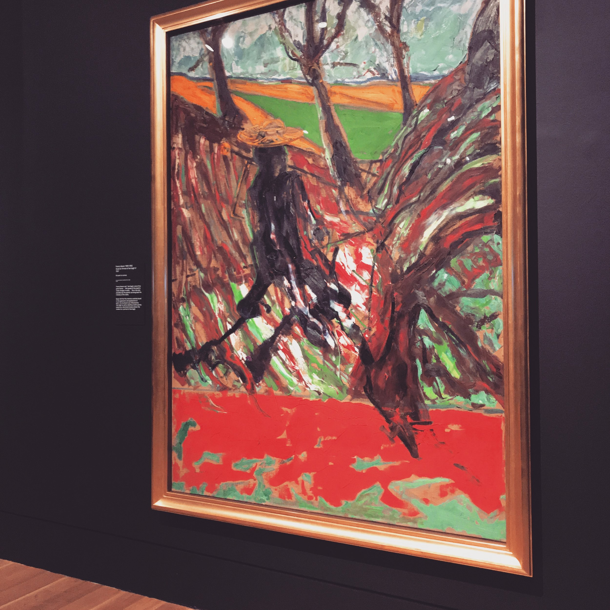 Van Gogh walking