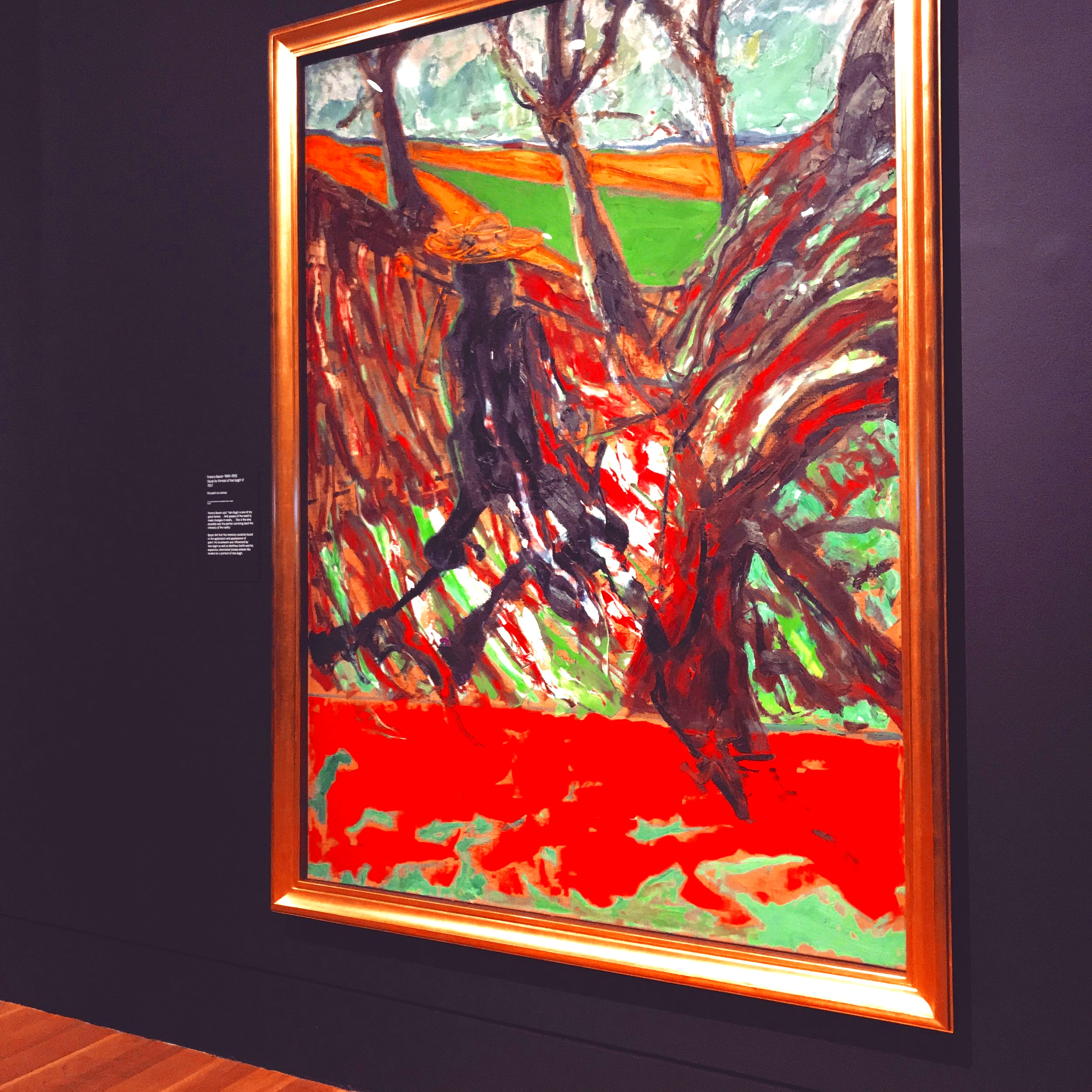 Francis Bacon stole the show! - Van Gogh walking…