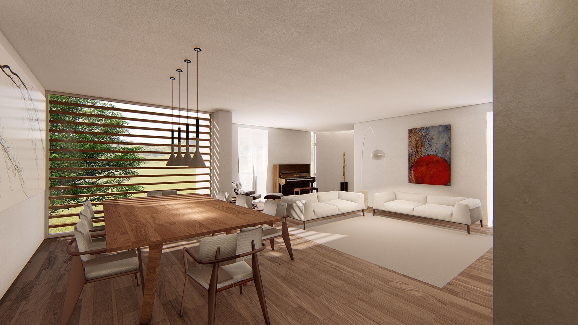 CASA G+B | PROGETTO D'INTERNI DI ABITAZIONE PRIVATA, Campi Bisenzio (Fi)   Interior design per una residenza privata di circa 150 mq, nella quale saranno applicati materiali di livello come parquet in teak, resine e preziosi mosaici