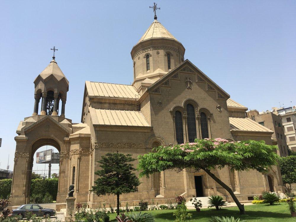 Cairo: St. Gregory the Illuminator Armenian Church ( Photo: Chaghig Filian)