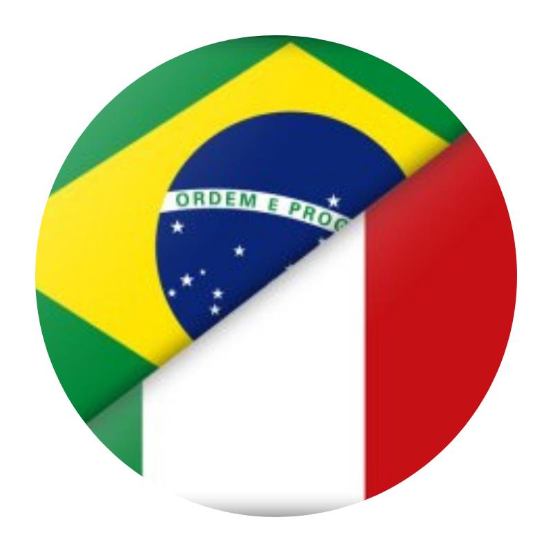 - Como temos domínio da língua italiana e portuguesa, fazemos a ponte entre os pontos Brasil x Italia com maestria