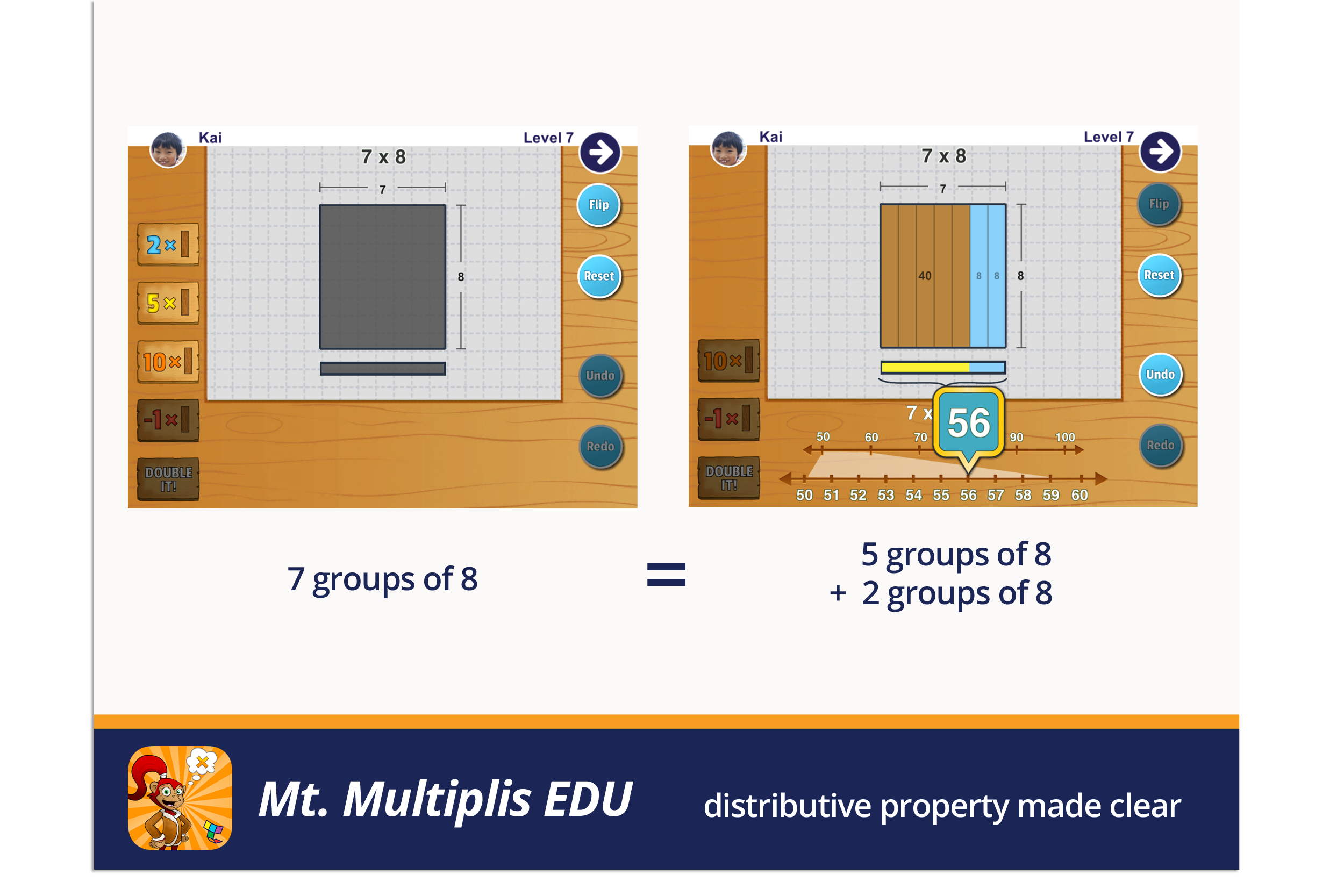Mt. Multiplis EDU, distributive property made clear