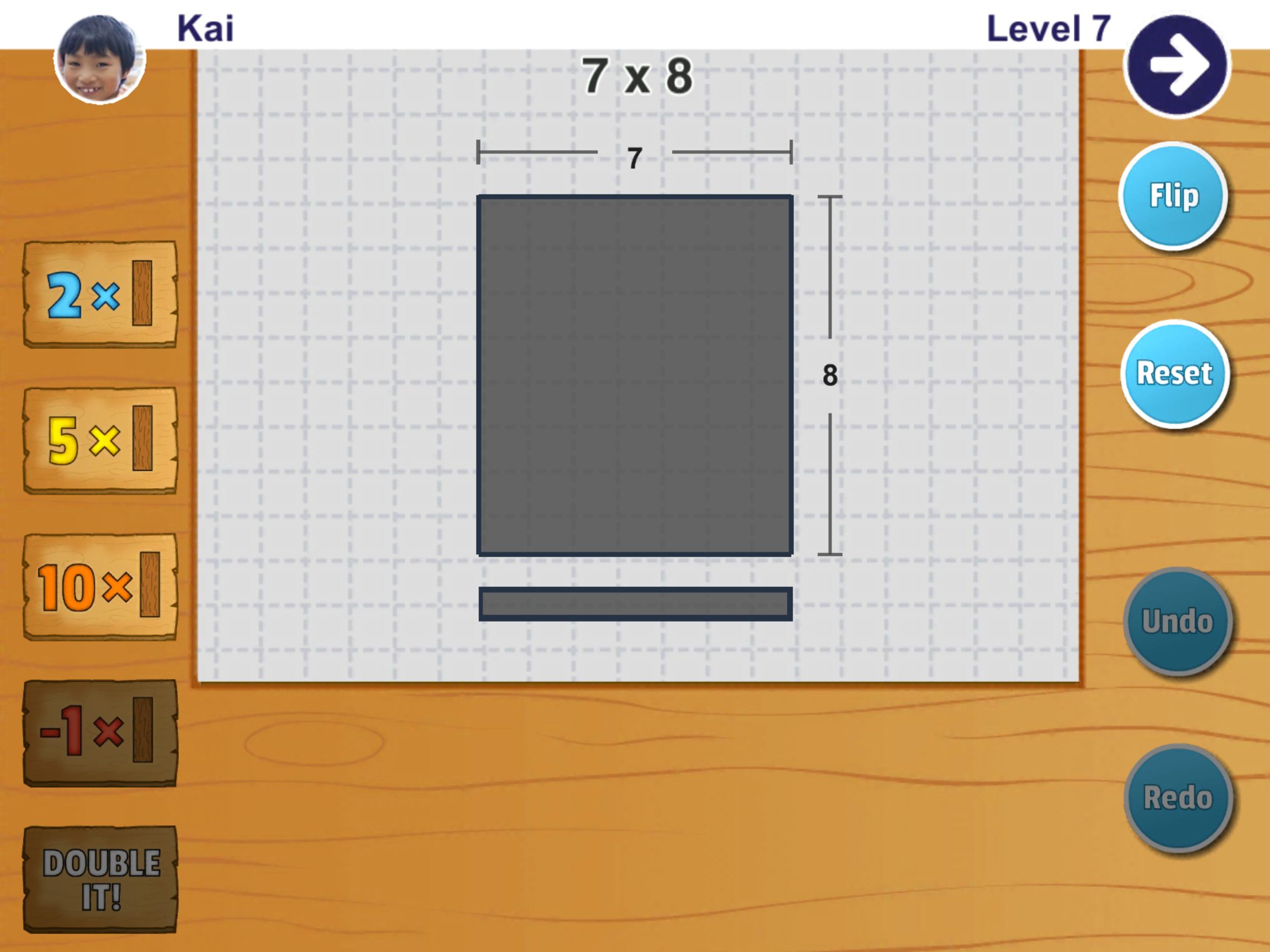 Challenge - build a 7 x 8 bridge