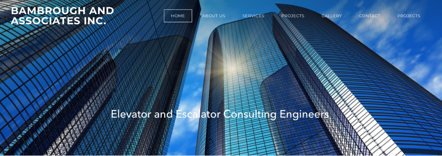 Bambrough and Associates Home Page