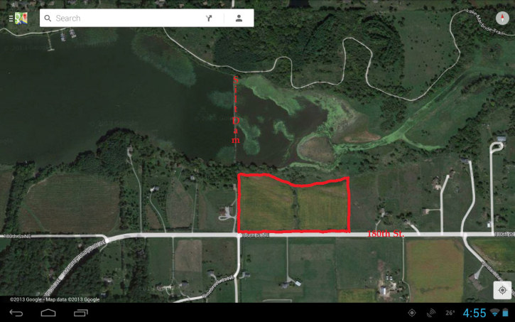 Subdivision Application 24943 is requesting a preliminary plat approval for an 11 lot 20.07 acre residential subdivision. The 11 lots are divided into 8 lots buildable and 3 out lots. Two out lots located closest to the lake are planned to be part of the septic system. Note the subdivision is located East of the silt dam adjacent to the part of the lake frequented by water birds including the large flocks of migrating White Pelicans.