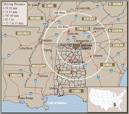 Jackson Co>Major Cities