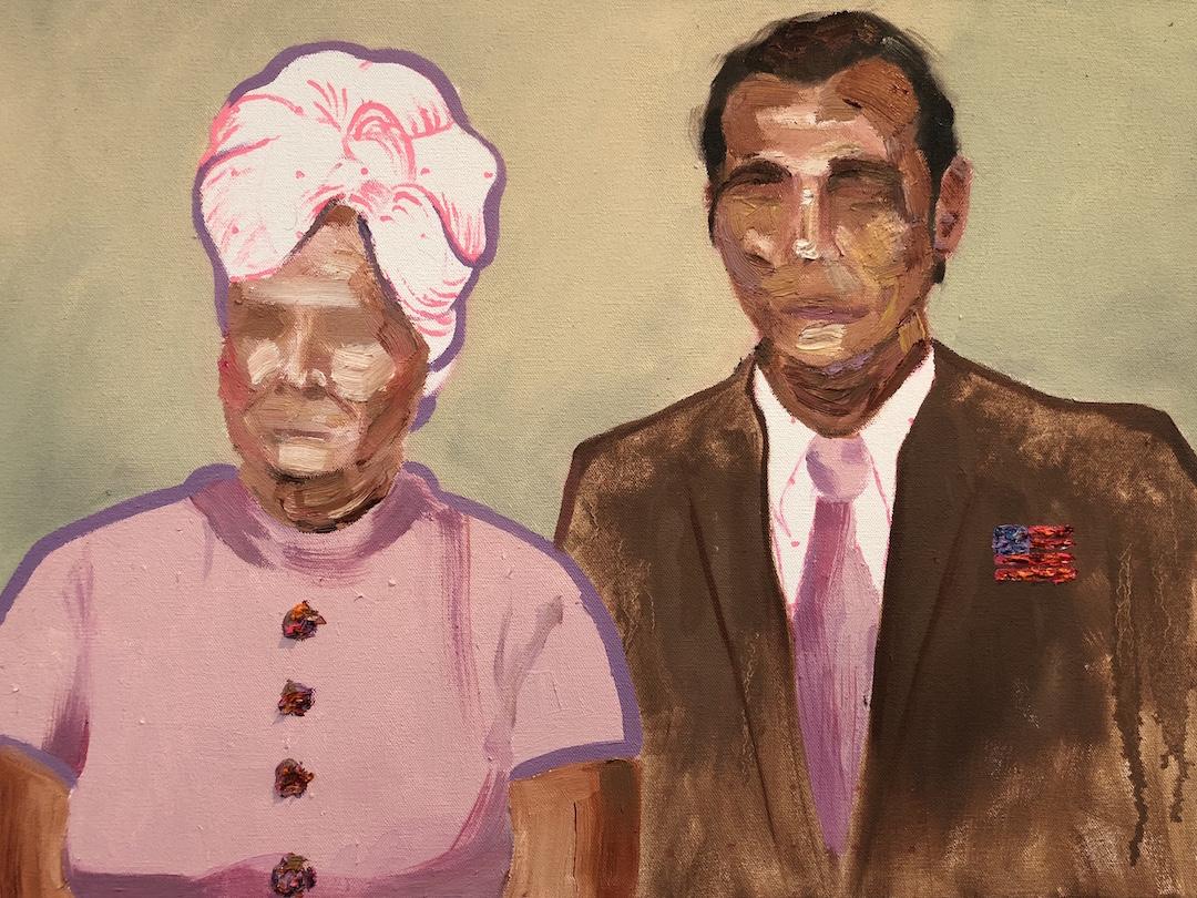"Evans   16 x 20"" oil on canvas"
