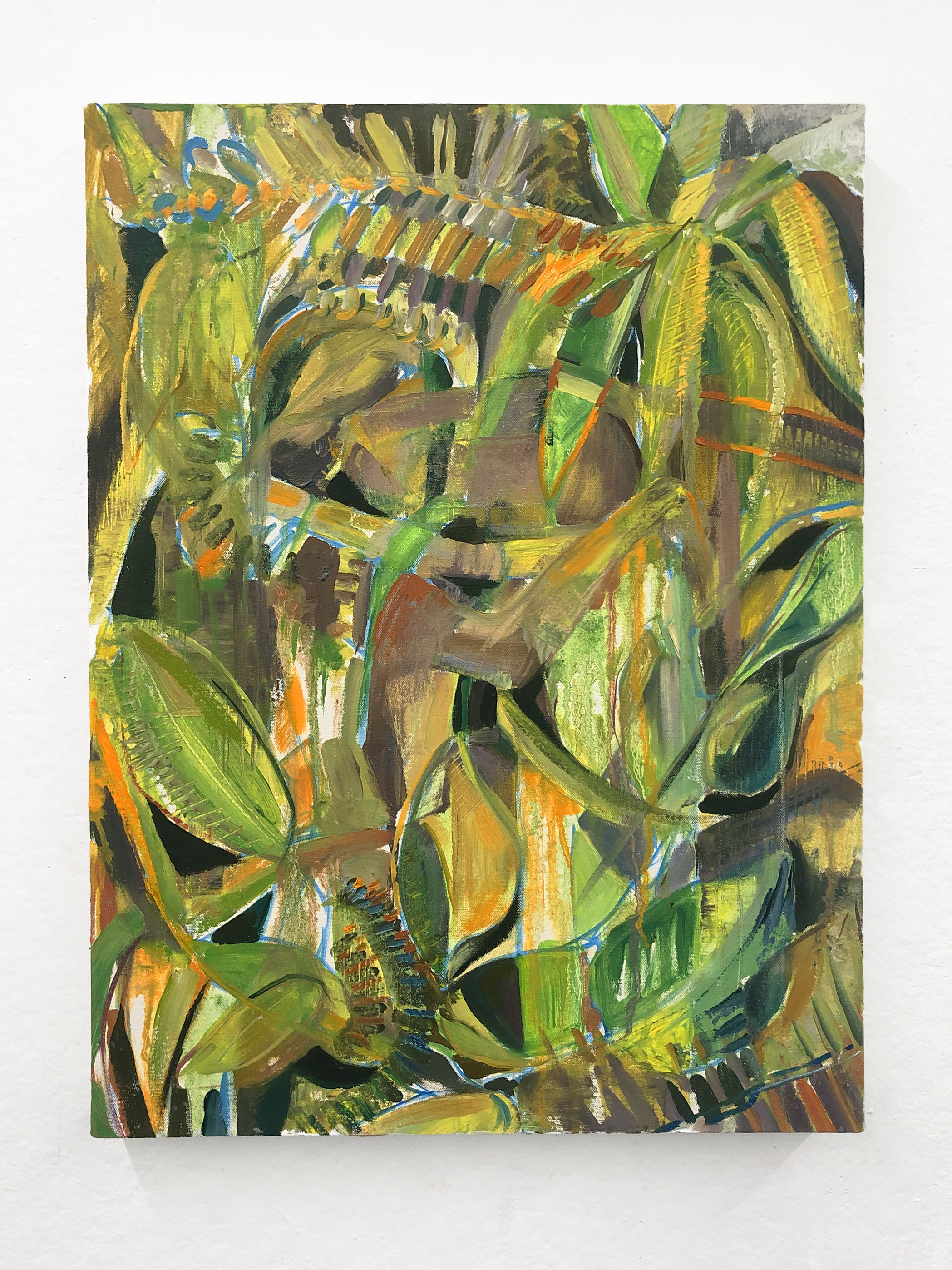 "Engulfed   18 x 24"" oil on canvas"