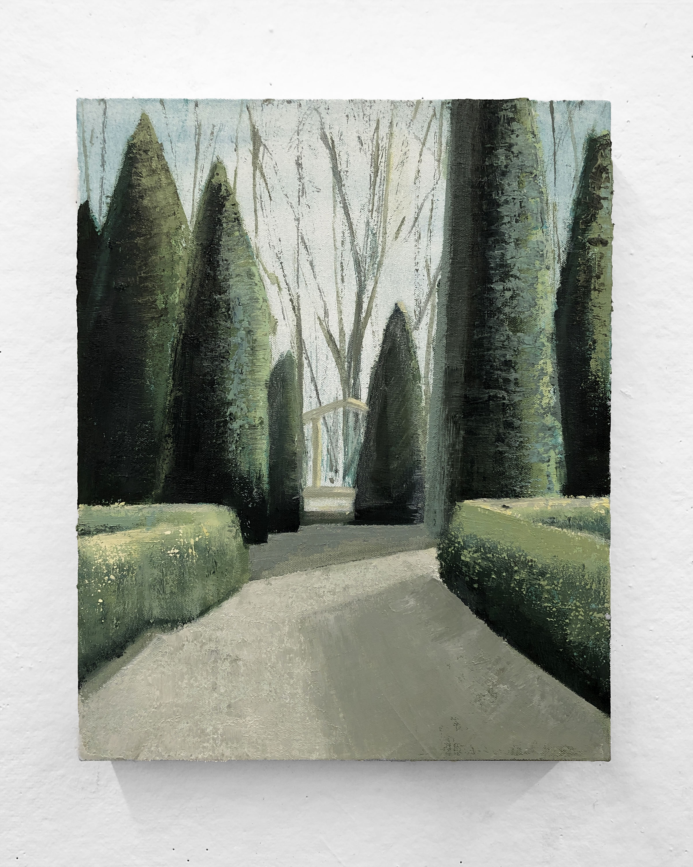 "Cut Clean   12 x 15"" oil on canvas"