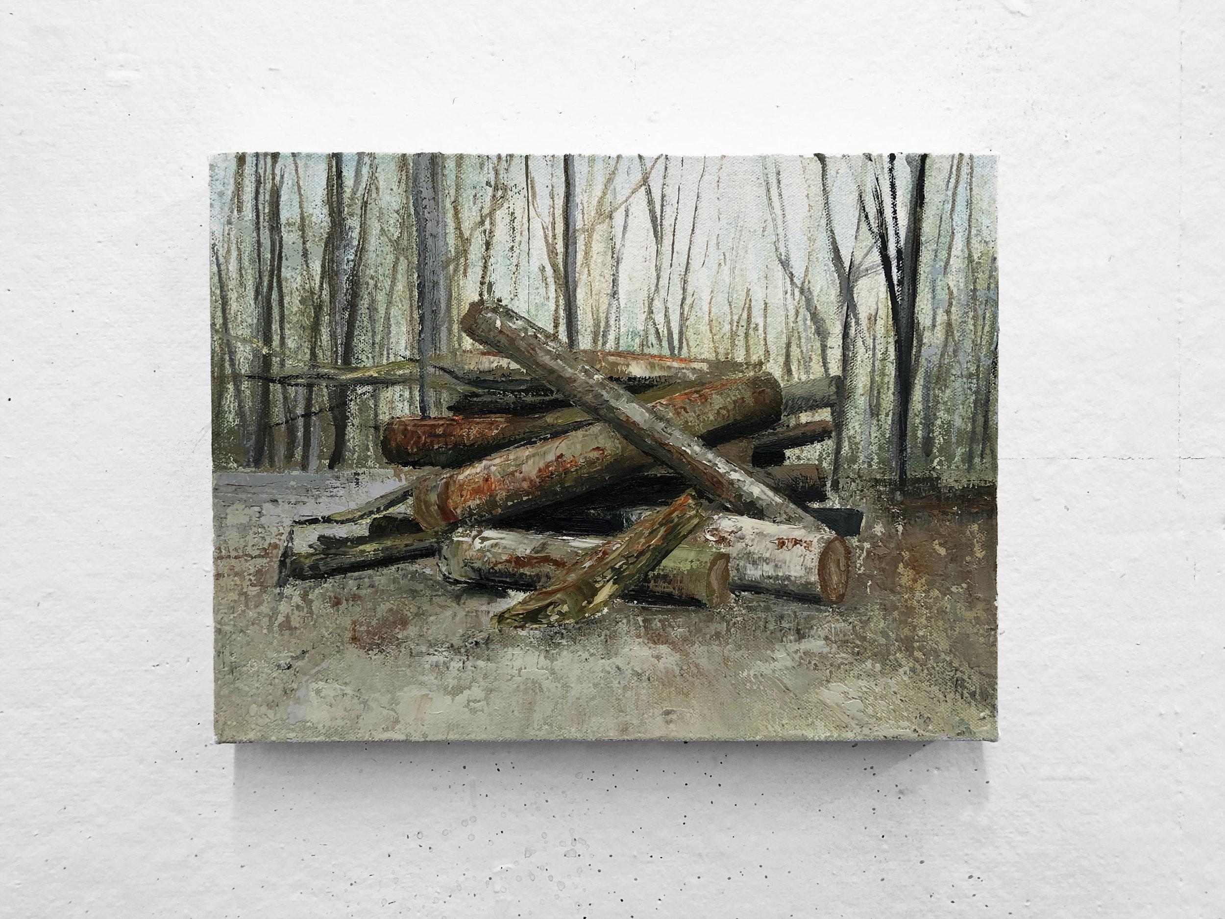 """Still   9 x 12"""" oil on canvas"""