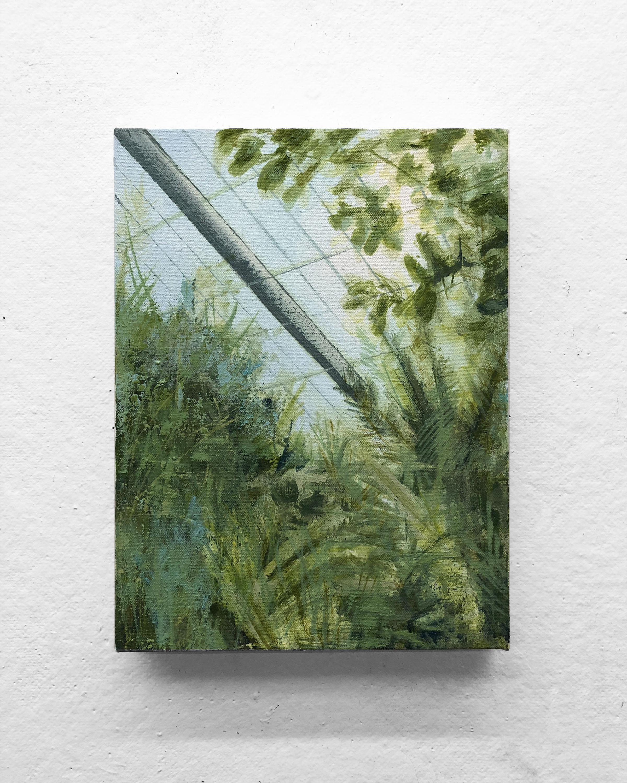 """Heat II   9 x 12"""" oil on canvas"""