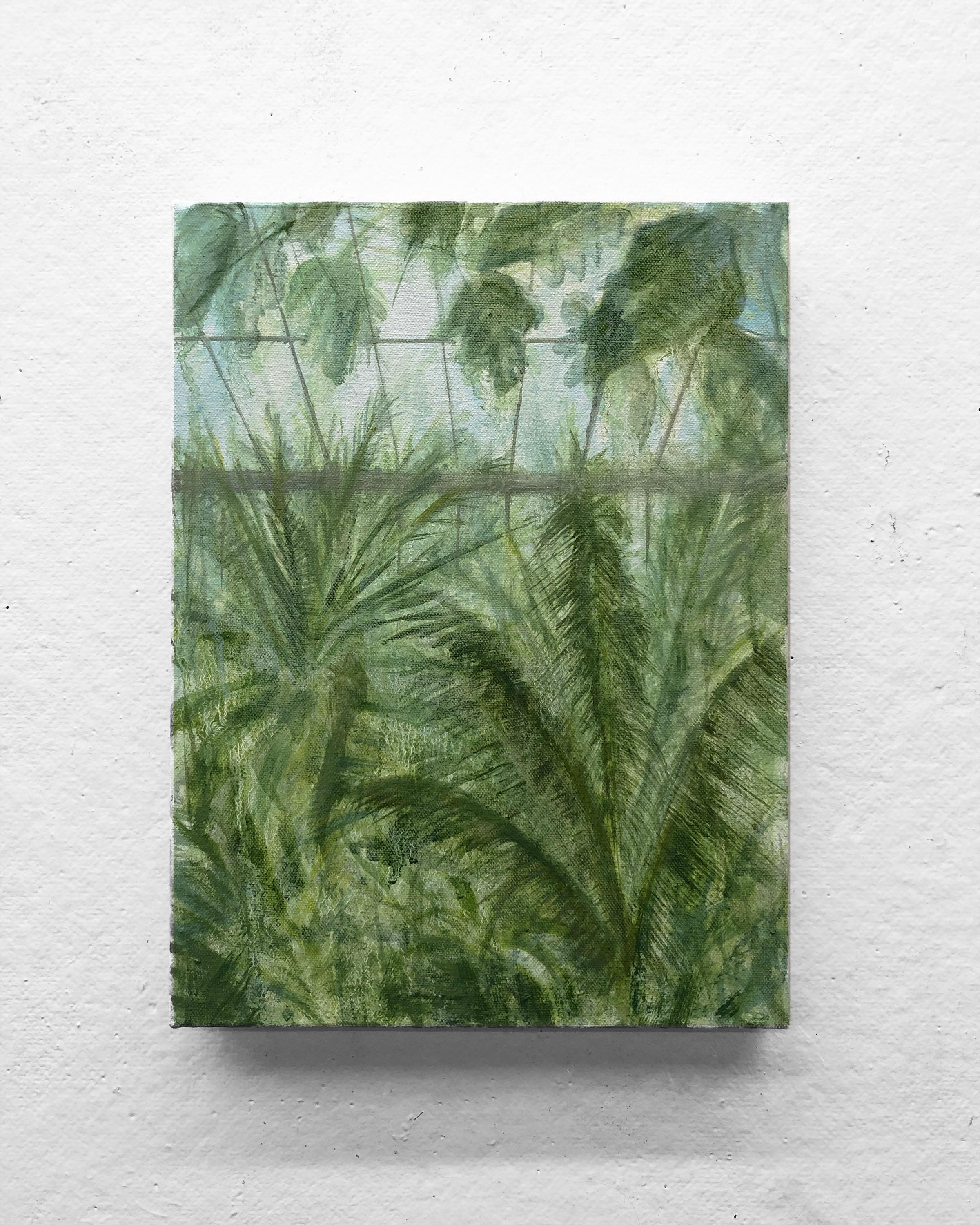"""Heat III   9 x 12"""" oil on canvas"""