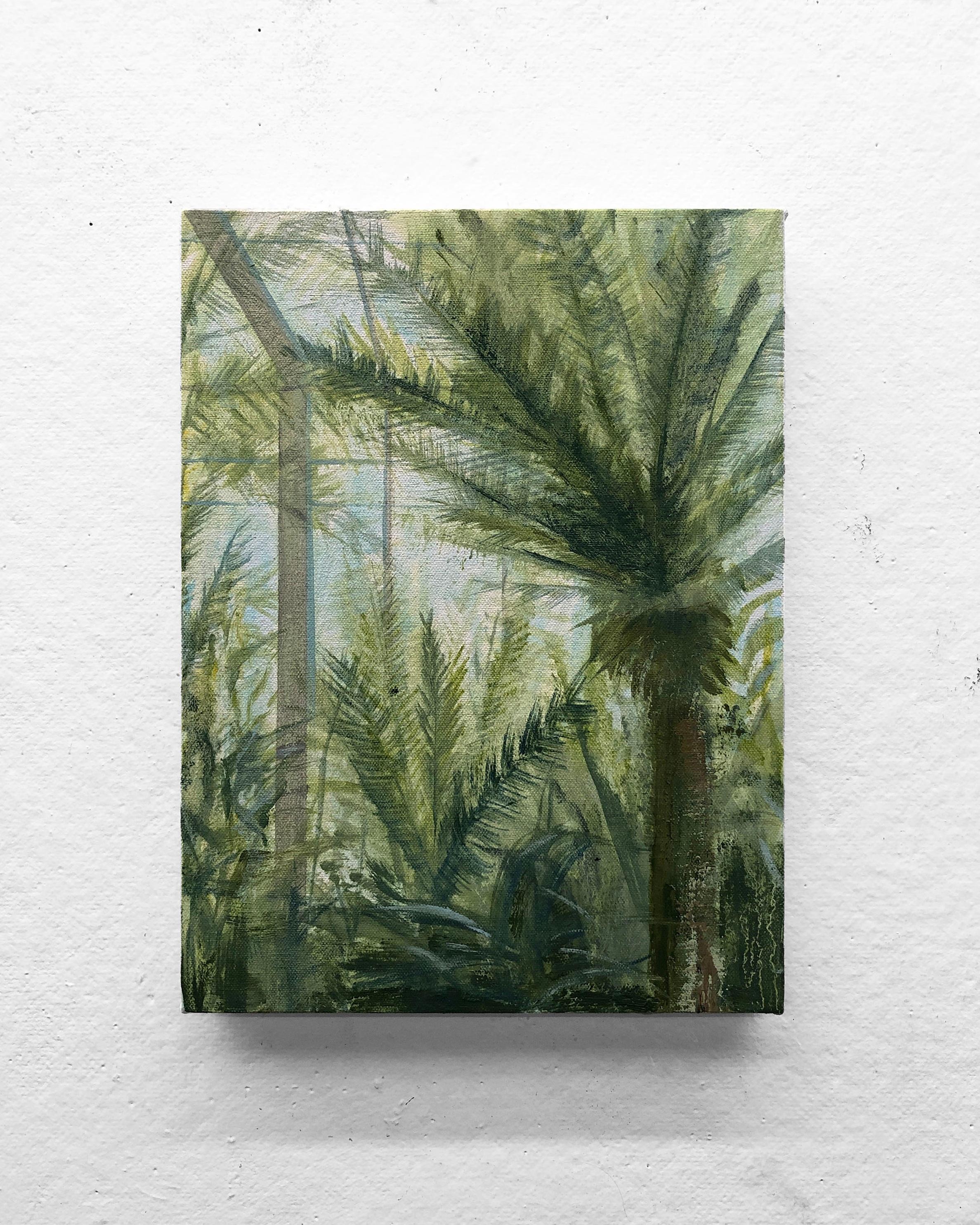 """Heat I   9 x 12"""" oil on canvas"""
