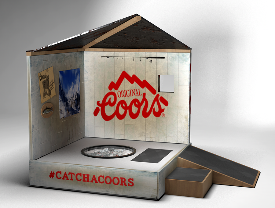 Catch a Coors Activation