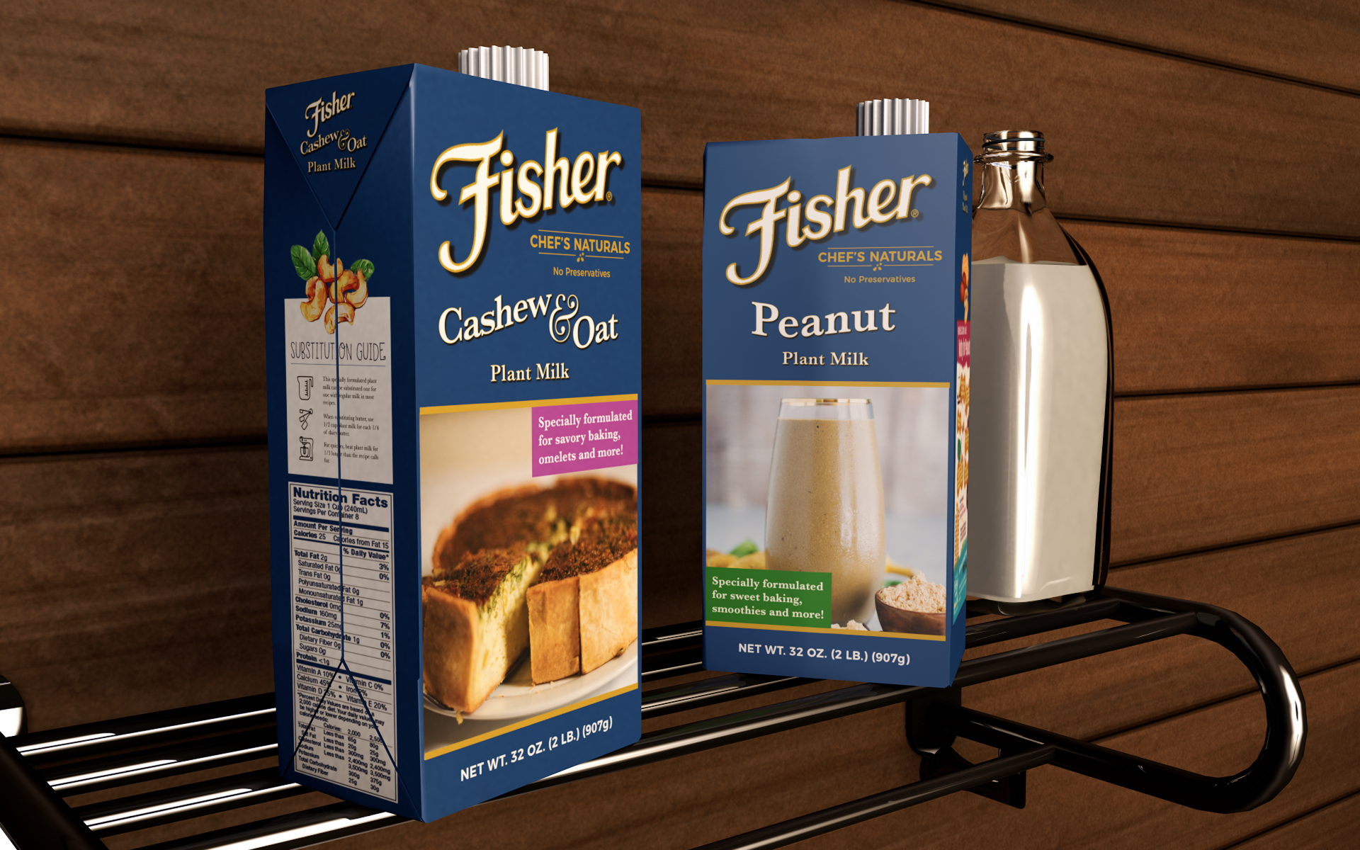 Fisher Plant Milk