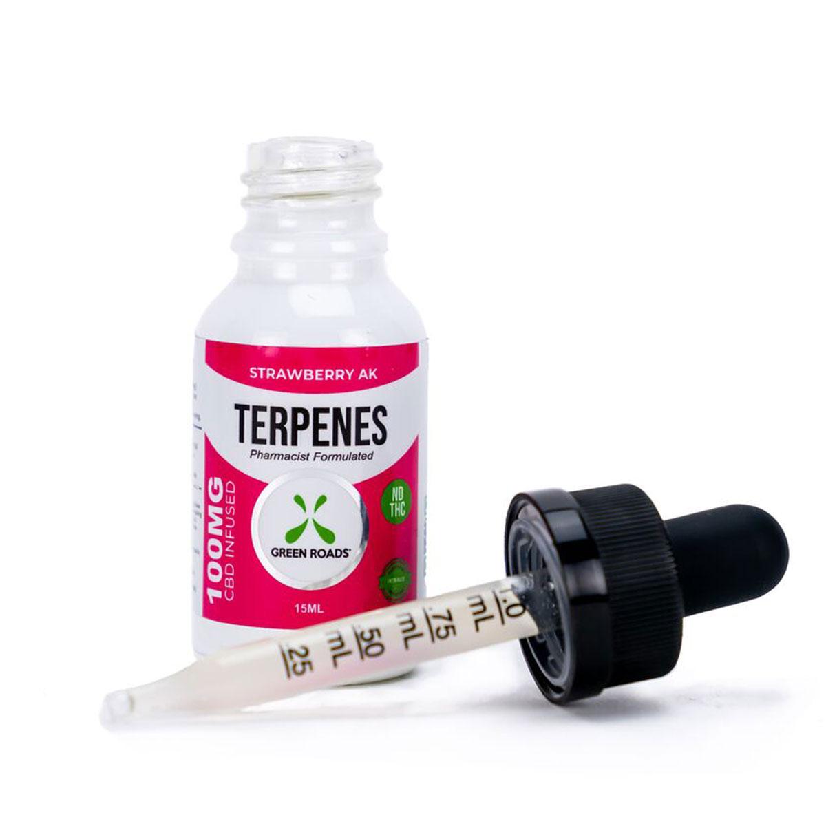 CBD Terpenes Oil – Strawberry AK