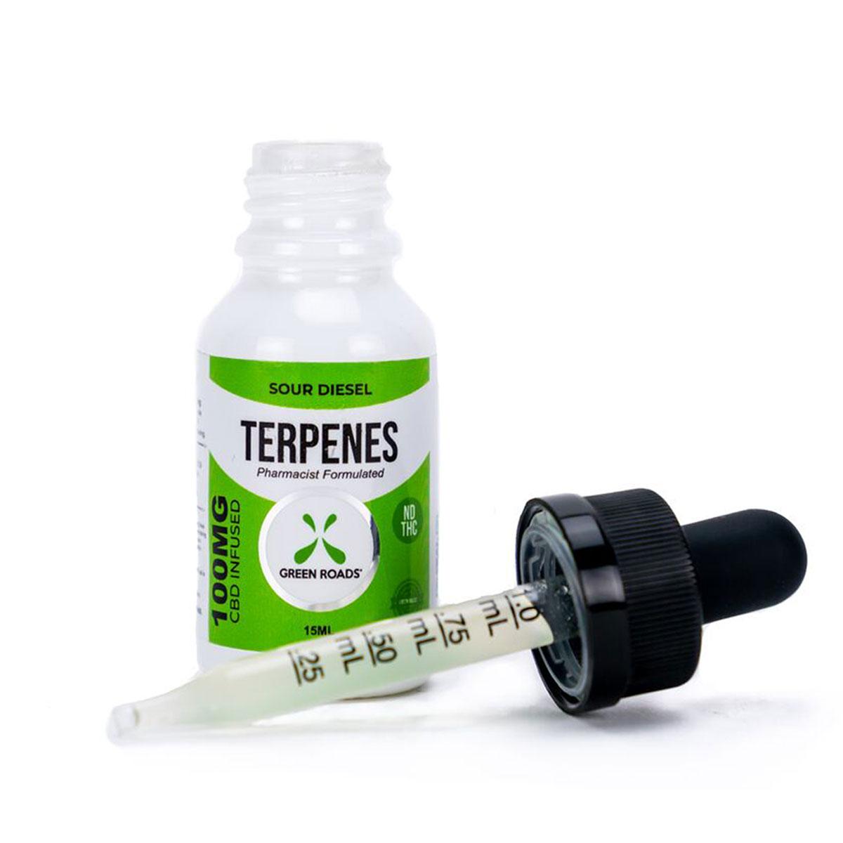 CBD Terpenes Oil – Sour Diesel