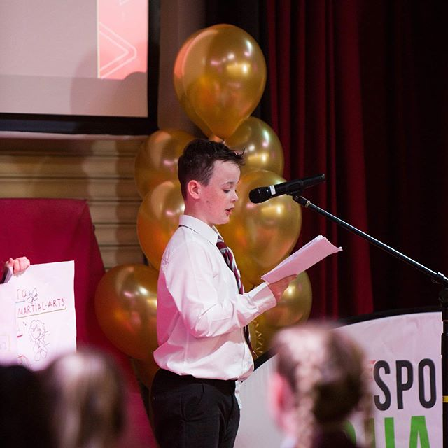 On Thursday we heard from some young people with bright ideas for sport💡🎤🎾