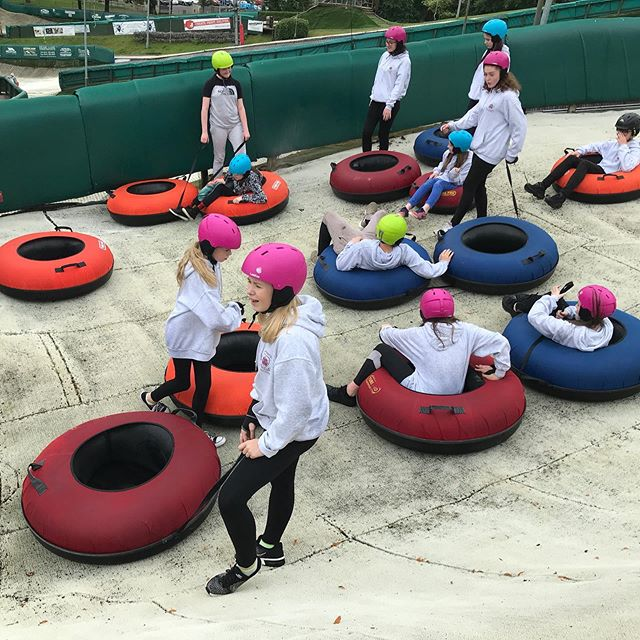 We've gone tubing mad! 🤣🥳🥳 #summercamps #welcometotheteam