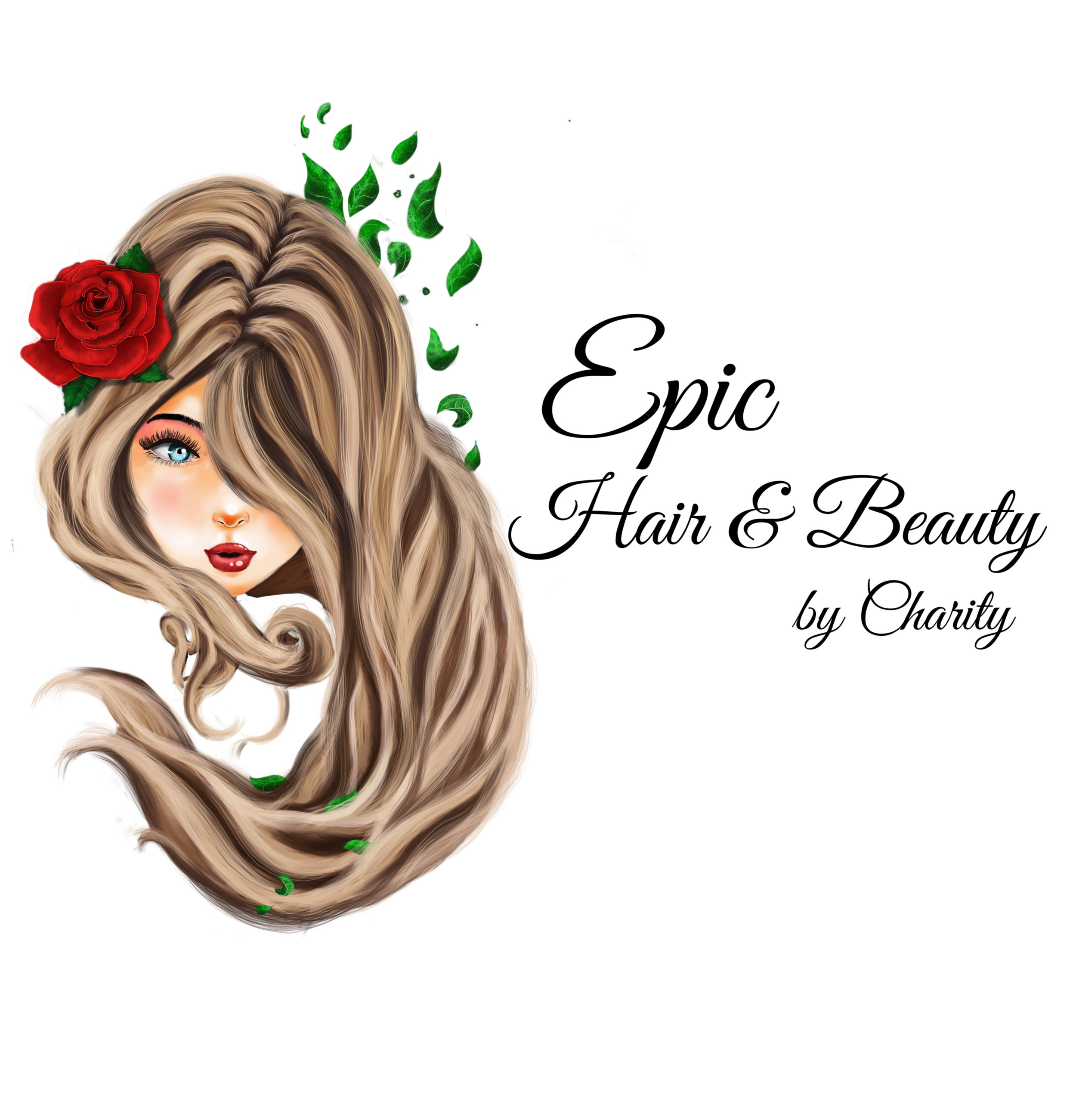 Logo for Epic Hair & Beauty by Charity