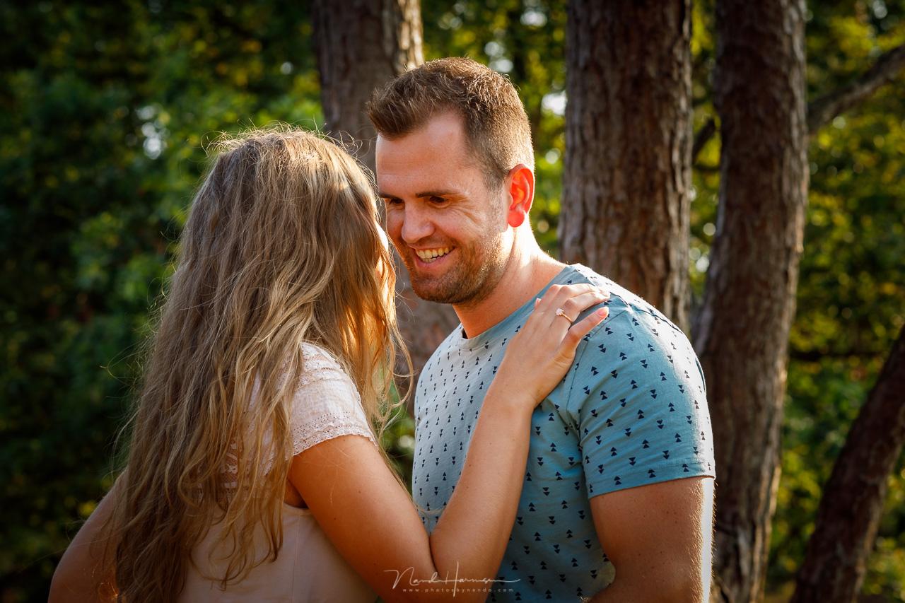 Loveshoot door trouwfotograaf nando