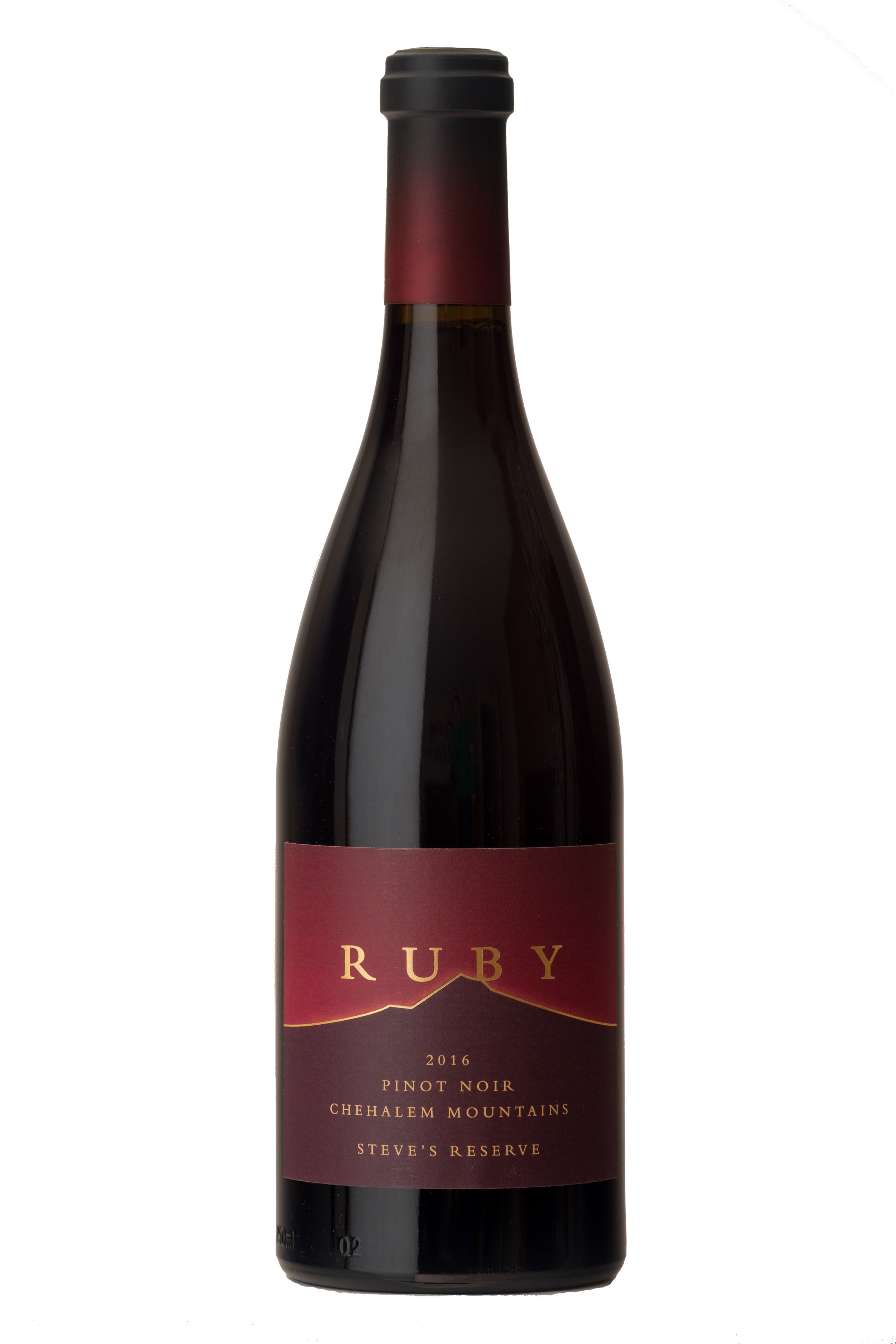 2016 Steve's Reserve Pinot Noir - A selection of six barrels made by Ruby co-owner Steve Hendricks. This Pinot Noir is a big and bold expression of Laurelwood soils.$60