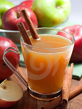 yum, yum - apple cider and art. the perfect combination