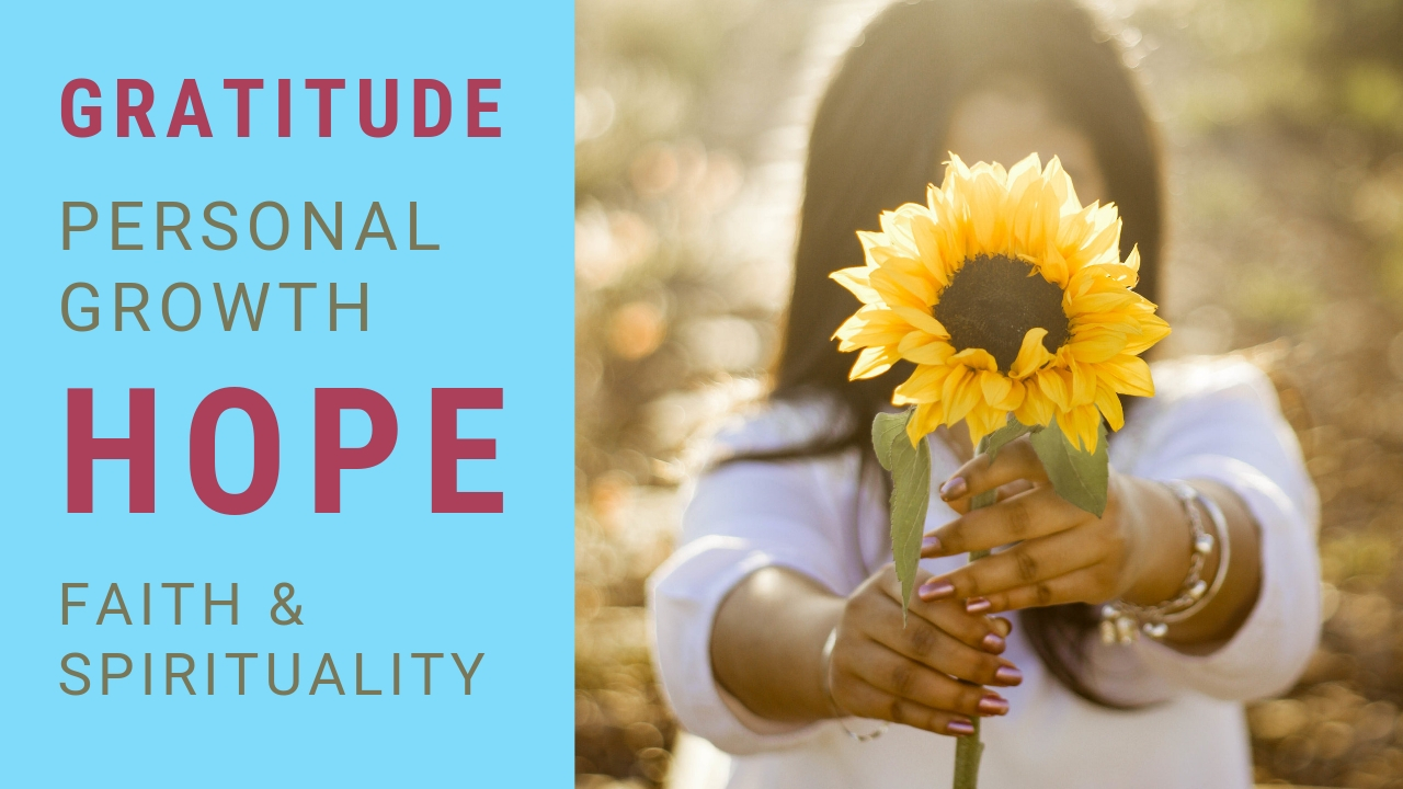 Gratitude hope