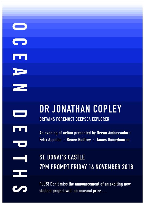 Poster design for Ocean Ambassadors