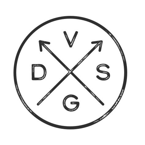Version C: Arrows, letters read clockwise
