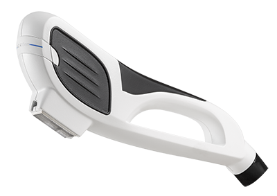 Intense Pulse Light (IPL) - The Viora V-IPL hand piece filters light to different wavelengths to target different areas of the skin and affect change.