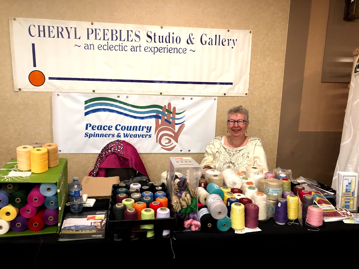 Cheryl Peebles Studio / Peace Country Spinners & Weavers